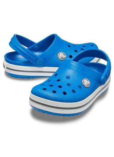 Crocs Crocs 2045374Jn Crocband Clog Çocuk Bebek Sandalet Terlik Mavi